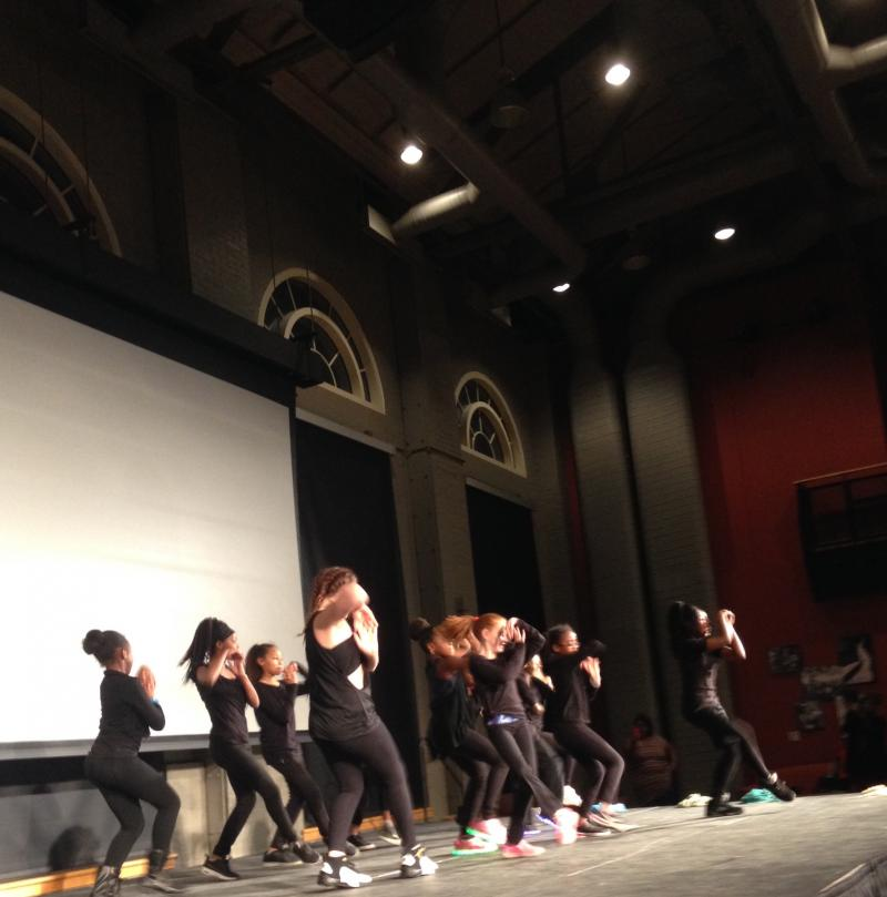 The Breaking Chains & Advancing Increase (BCAI) Dance Team closes out the Not In Our Town Rally March 9, 2017.