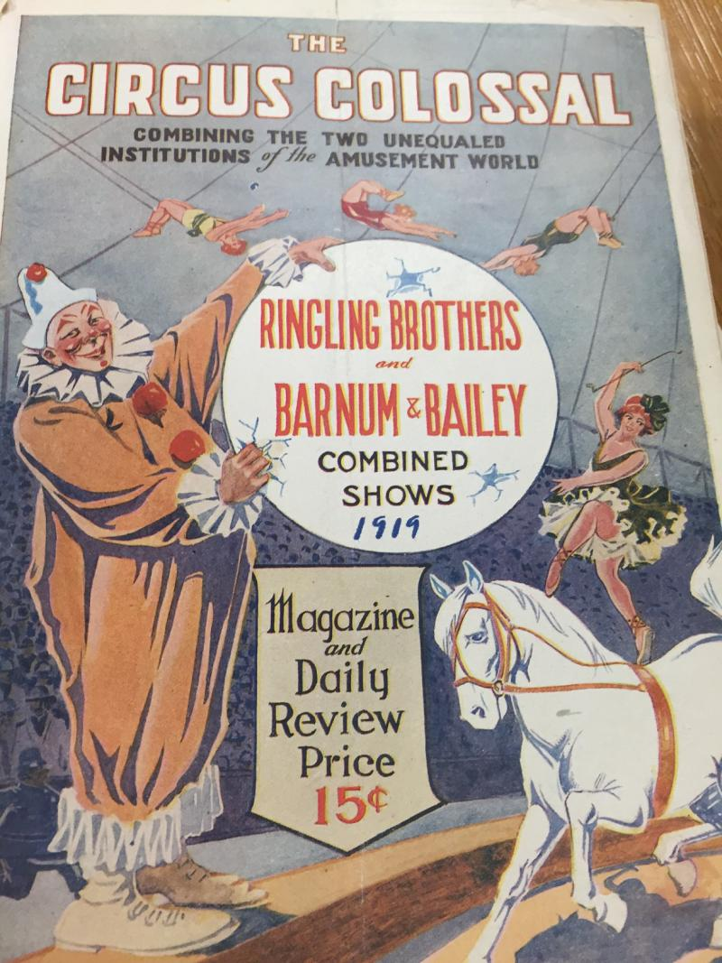 Ringling Brothers and Barnum & Bailey Circus will live in in the artifacts at Milner Library.