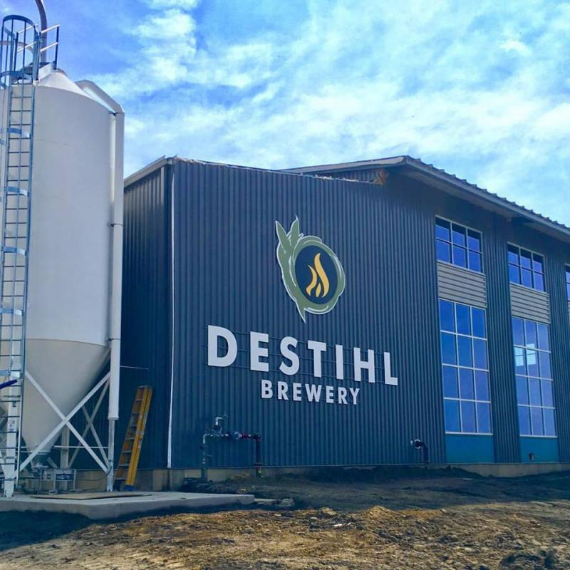 The Destihl Brewery facility in north Normal has a maximum capacity of 150,000 barrels a year.