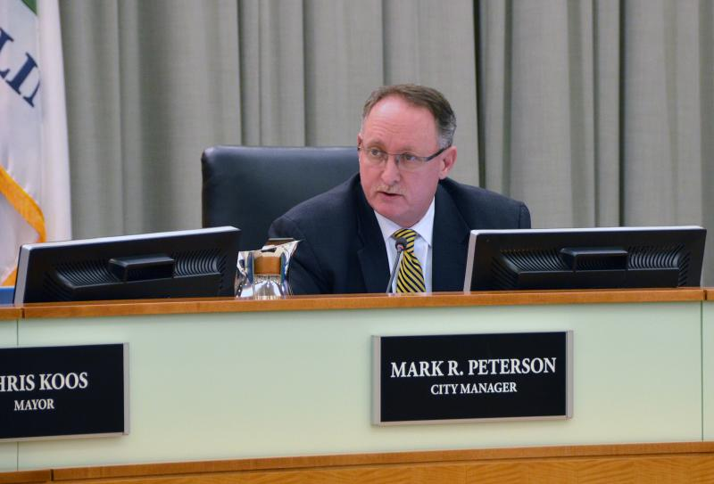 Normal City Manager Mark Peterson.