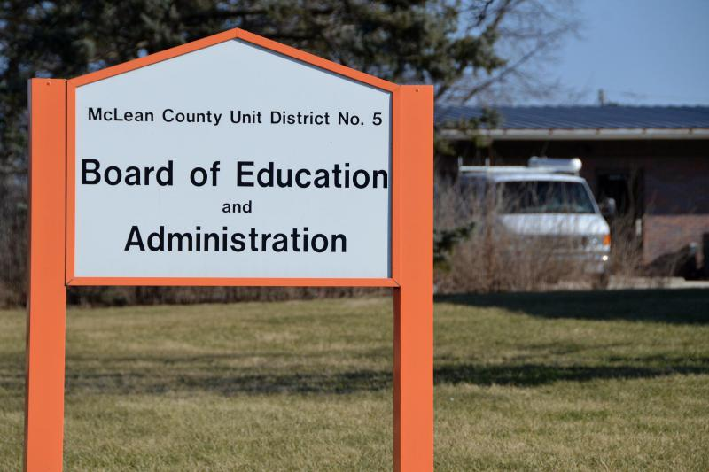 The Unit 5 school board will meet with the Normal Town Council on Wednesday night.
