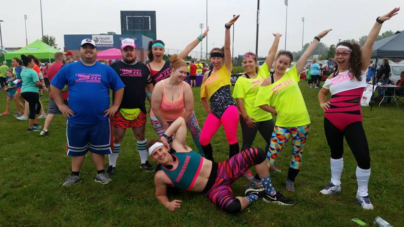 There's ample camaraderie at Relay for Life.
