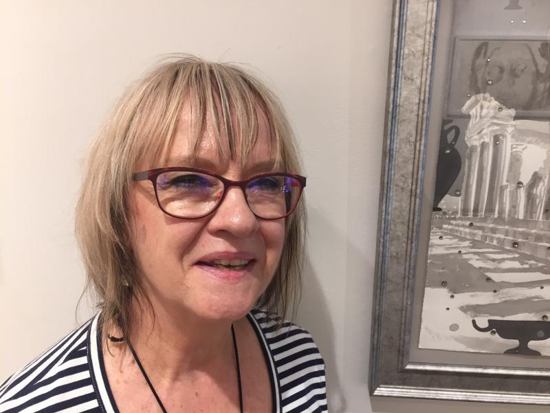 Artist Cynthia Kukla
