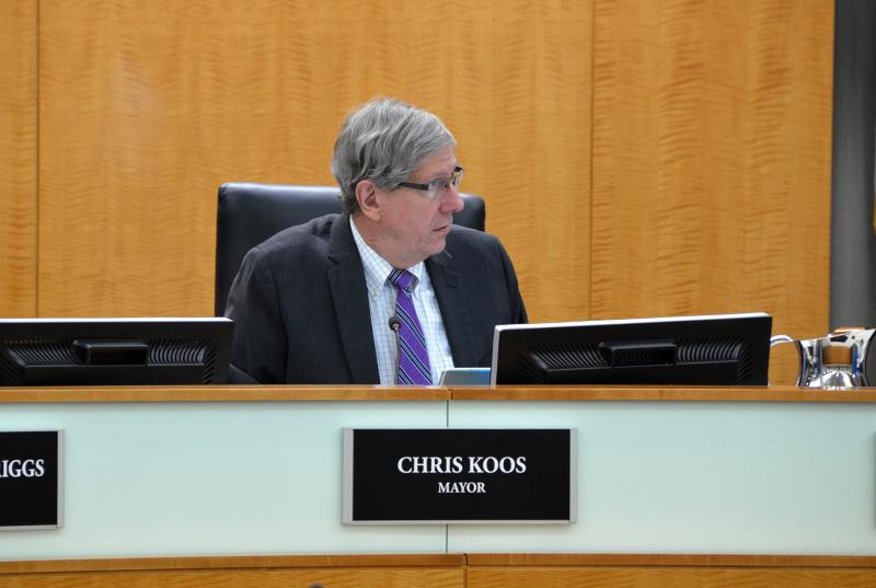 Normal Mayor Chris Koos.