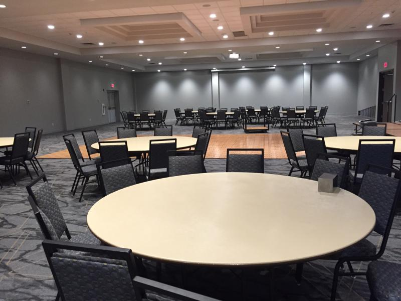 The new Radisson ballroom.