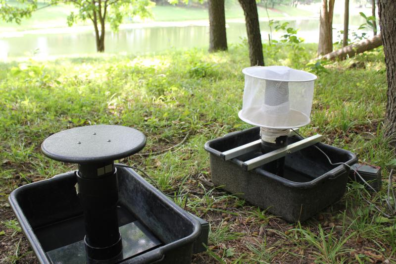 A mosquito trap like those used in McLean County to detect the presence of West Nile virus.