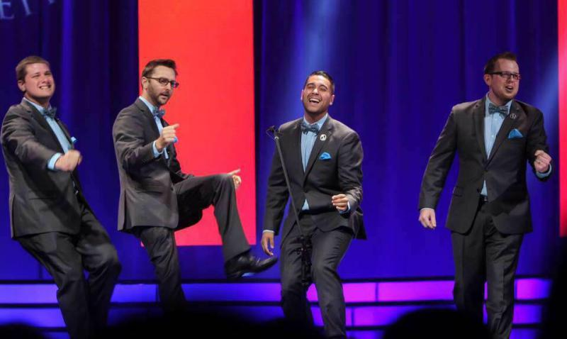 After Hours is a barbershop quartet on the rise.