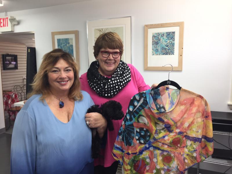 Jan Brandt and Jeannie Breitweiser are partners in art.
