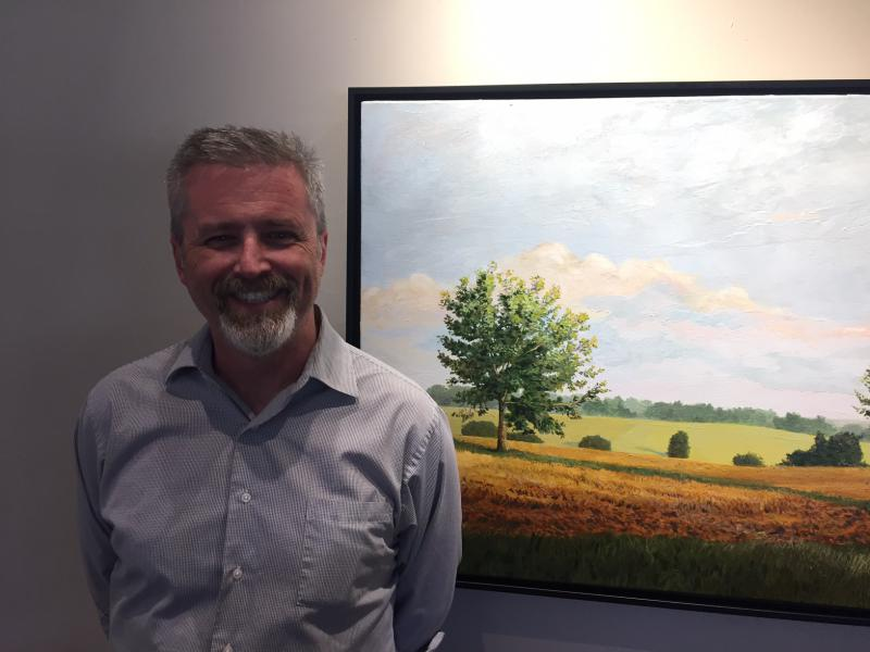 Doug Johnson is not only the director of the MCAC, but a talented and respected painter.