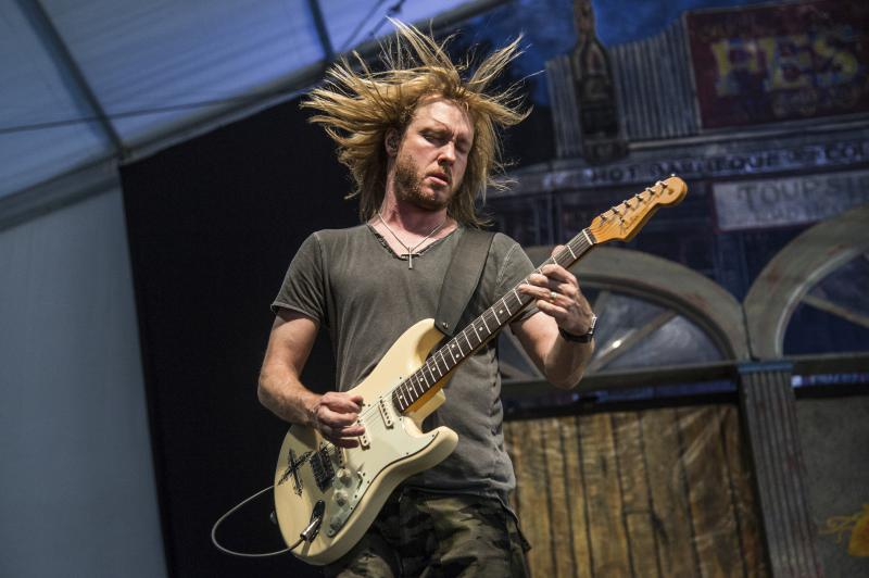 Kenny Wayne Shepherd performs at the New Orleans Jazz and Heritage Festival on Saturday, May 6, 2017, in New Orleans.