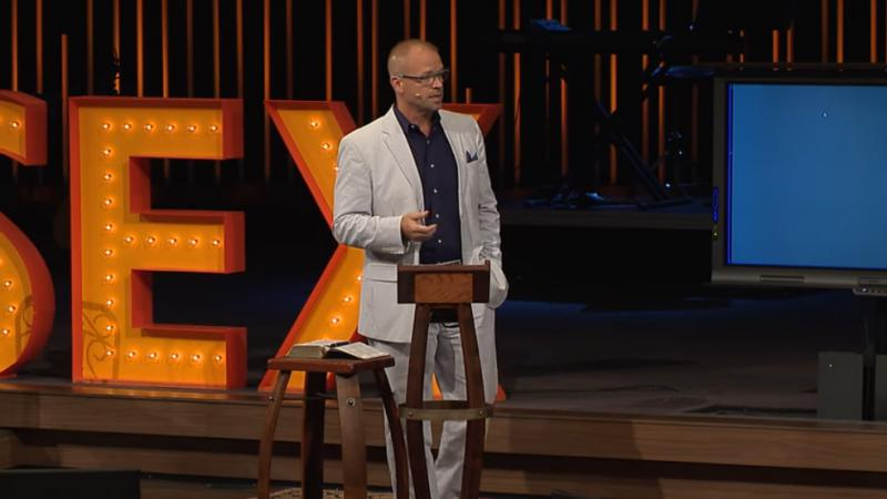 Eastview senior Pastor Mike Baker's sermon on sexuality provoked members of the LGBT community as well as a women's group and other Christians in the community.