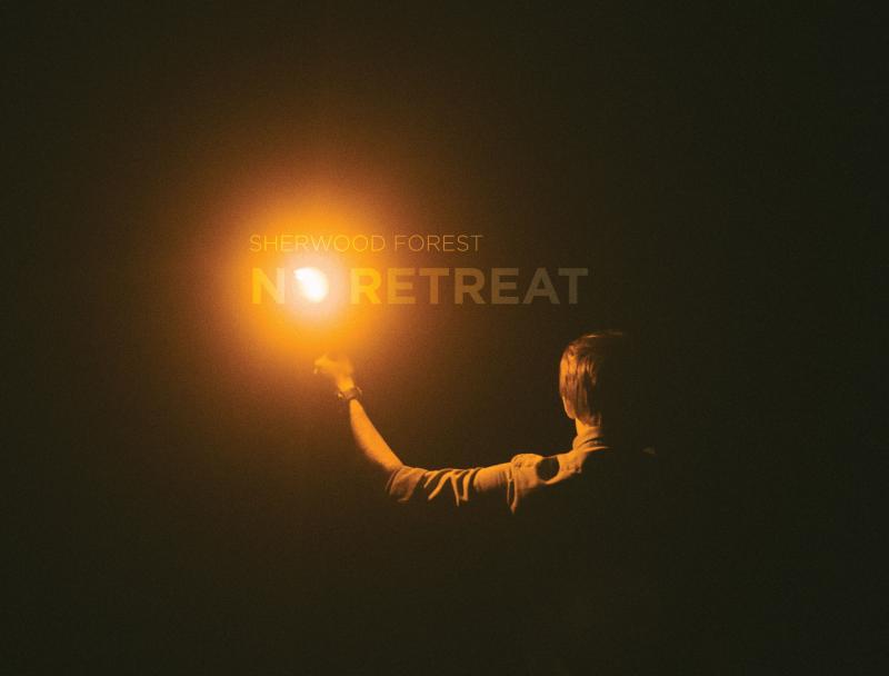 """Sherwood Forest """"No Retreat"""" album cover"""