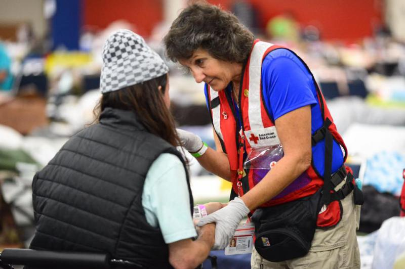 After successful completion of Just In Time and a background check, volunteers are eligible to deploy to help with hurricane relief efforts.