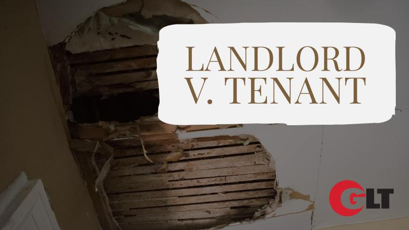 The most GLT series is called Landlord V. Tenant, debuting Sept. 5 on GLT's Sound Ideas.