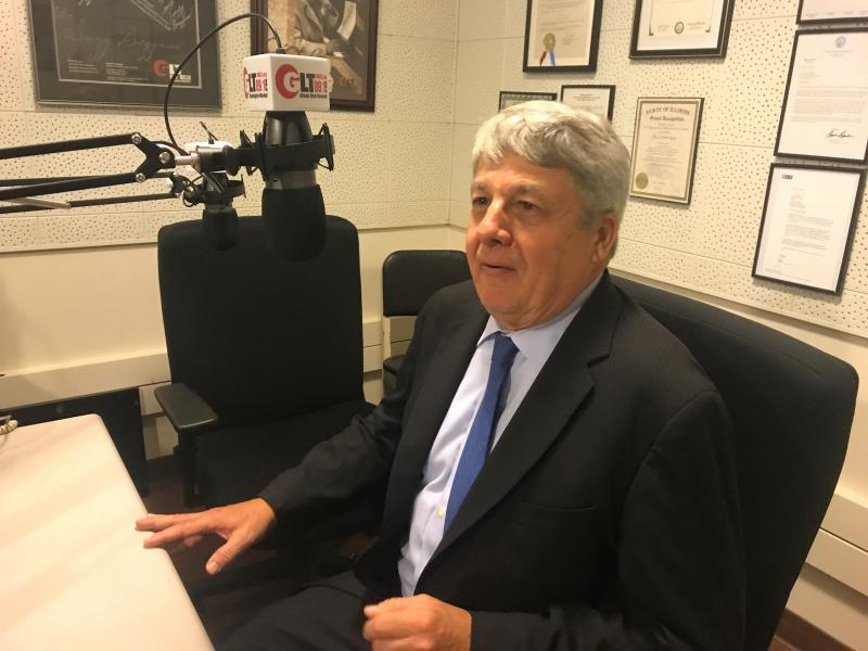 Chief Washington correspondent of the New York Times Carl Hulse during his GLT interview on Monday, Sept. 18, 2017.