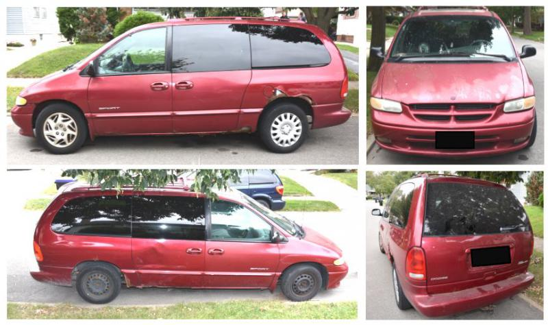 Police are asking anyone who saw a red van in southeast Bloomington or along U.S. 150/Toward Barnes Road on Wednesday between 9-11:30 a.m. to call Detective Power at (309) 434-2579 or tpower@cityblm.org.