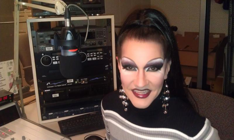 Sharon ShareAlike, the once and future drag pageant queen!