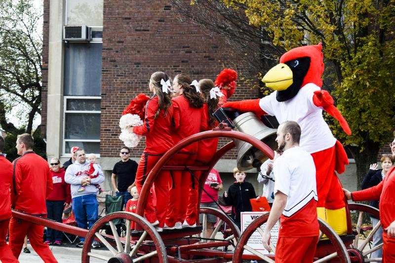 The ISU Homecoming parade made its way through campus and Uptown Normal on Saturday, Oct. 21, 2017.