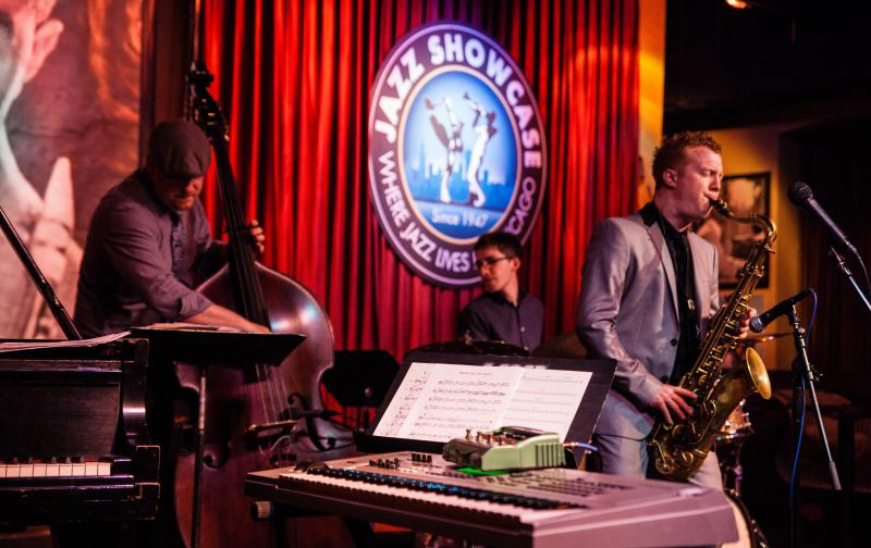Adam Larson at the Jazz Showcase in Chicago