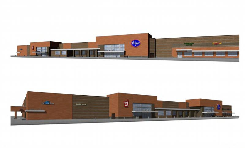 The new Kroger Marketplace would be built on College Avenue near Hershey Road, near Meijer.