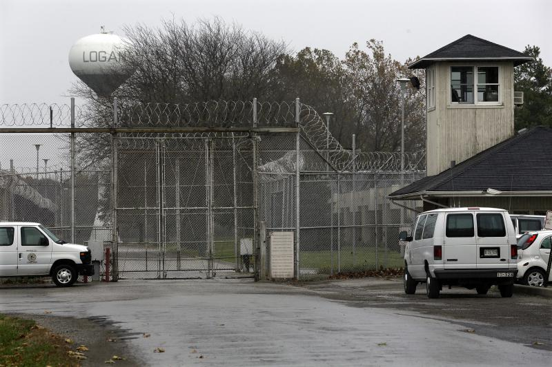 Security fences surround the Logan Correctional Center Friday, Nov. 18, 2016, in Lincoln.