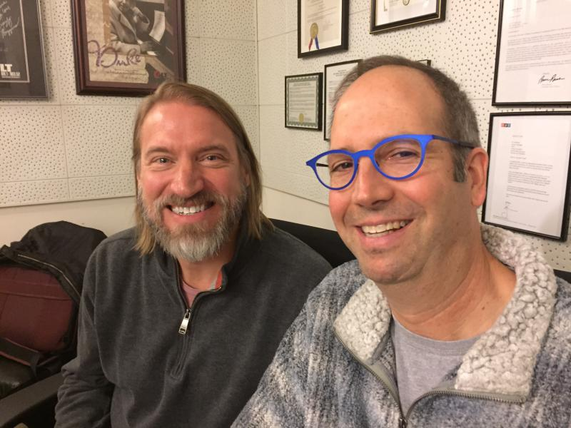Mike Thuene, left, and Bob Broad hope to help readers get a deeper appreciation of why they love poetry.