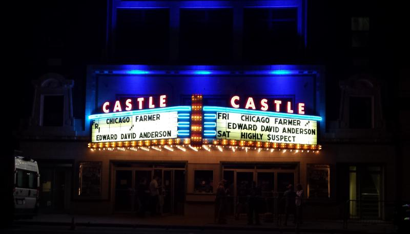 The Castle Theatre in downtown Bloomington.