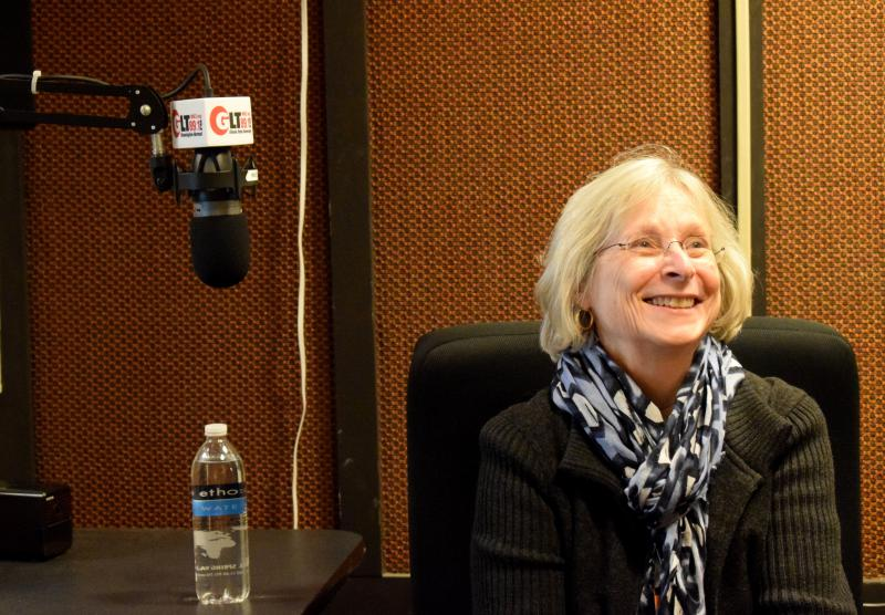 ACLU of Illinois Director Colleen Connell talks with GLT's Charlie Schlenker in studio.