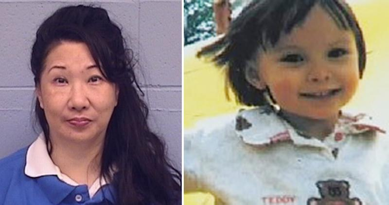 Misook (Wang) Nowlin, left, and Christina McNeil, the 3-year-old Bloomington girl who was killed in 1998.