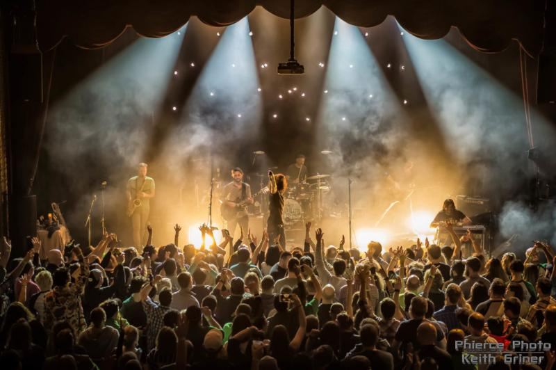 The Revivalists perform at the Castle Theatre in Bloomington in March 2017.