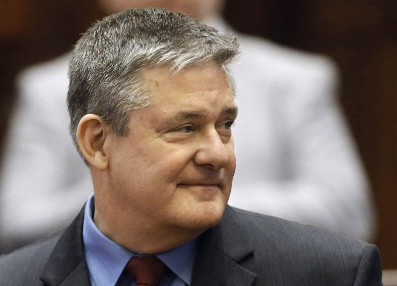 Dan Rutherford is seen at the state Capitol in Springfield in 2014.