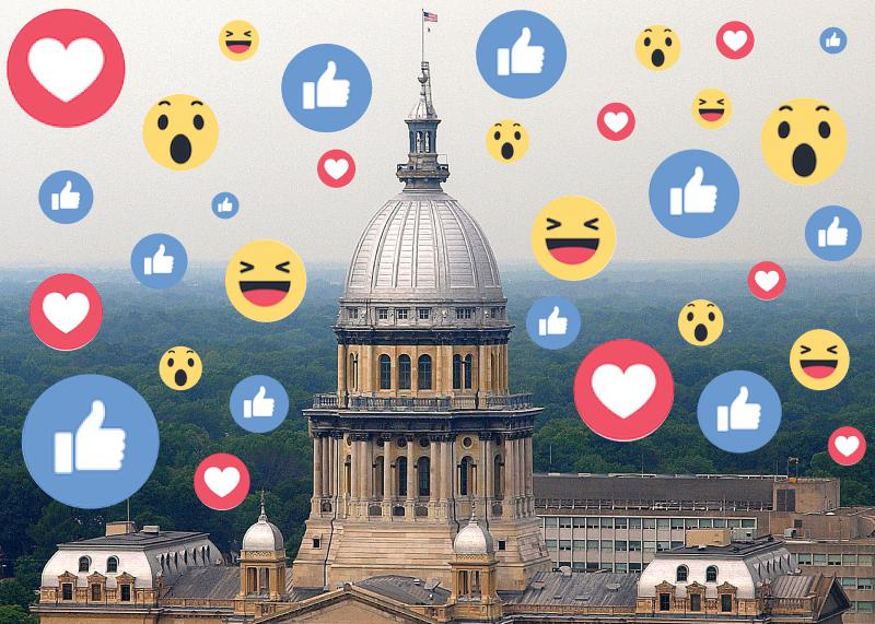 Facebook has already reshaped political campaigns in Illinois.