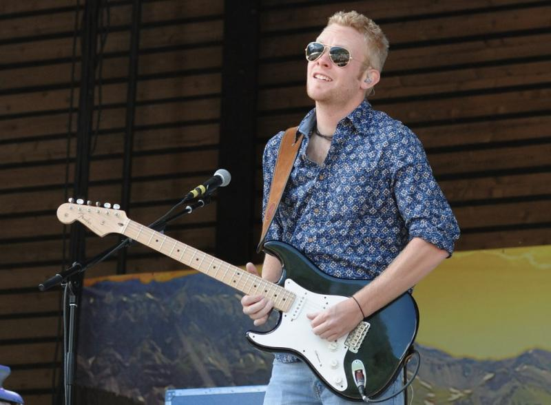 Matthew Curry performing at the 7th annual Ride Festival in Telluride, Colorado.