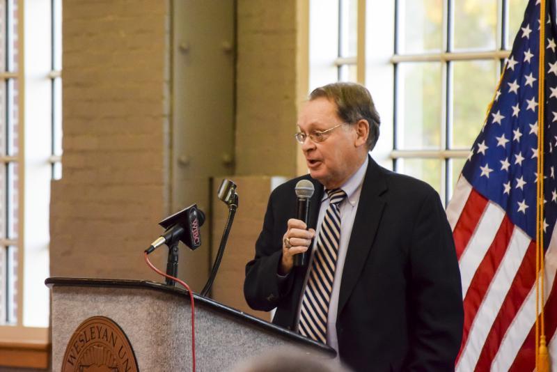 McLean County Board Chairman John McIntyre.