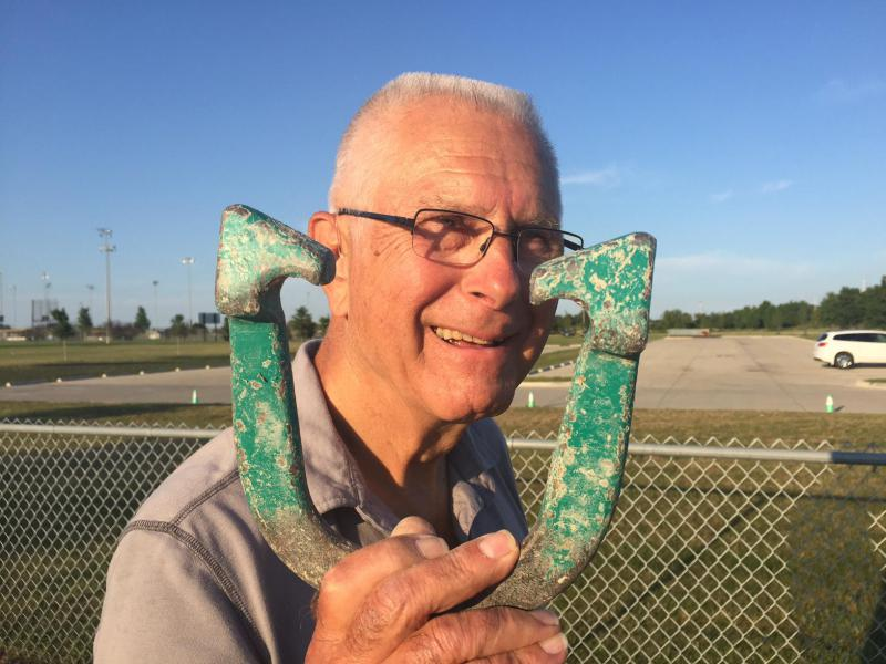 Bob Laskowski, a dedicated 30-year horseshoe pitcher, was featured in an October story by GLT's Laura Kennedy.