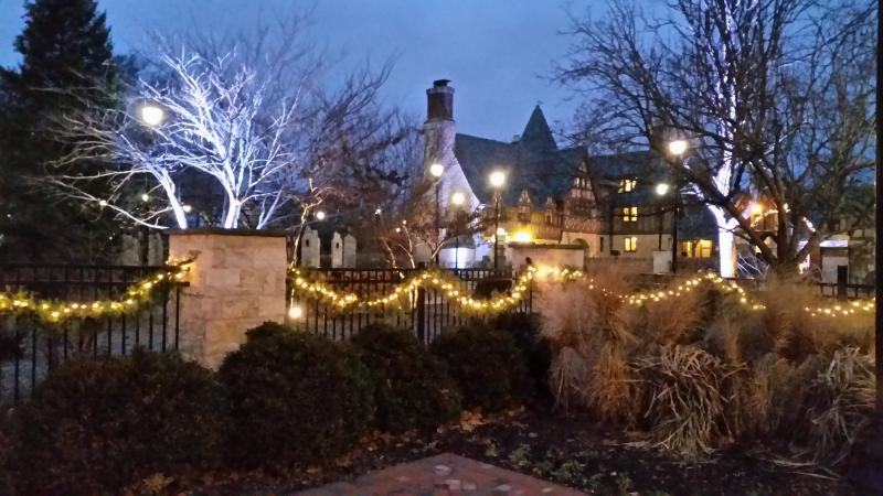Ewing Manor is featured on the Christmas at the Mansions Tour.