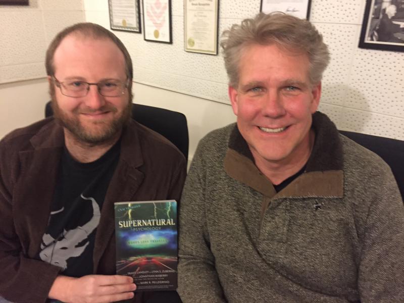 GLT Psych Geeks Eric Wesselmann, left, and Scott Jordan.