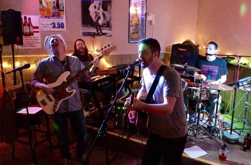 Aaron Wissmiller, Matthew Gueldenhaar, Dave Gueldenhaar, and Zak Hoffman perform.