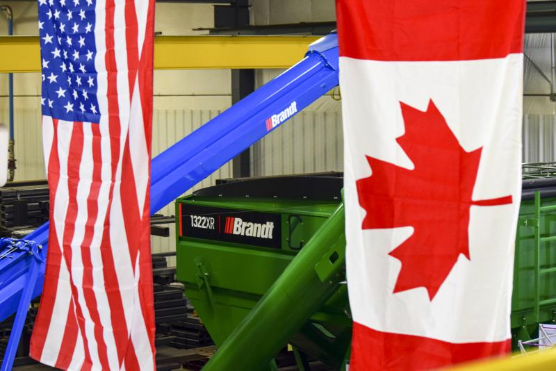 The plant would be Canada-based Brandt's first U.S. manufacturing facility.
