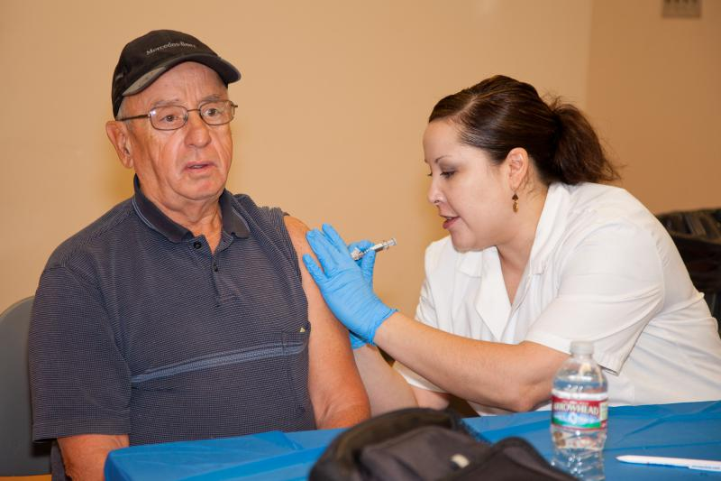 It's not too late to get vaccinated against the flu, according to the McLean County Health Department.