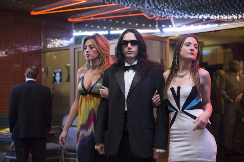 "Golden Globe Award-winner James Franco in a scene from ""The Disaster Artist."""