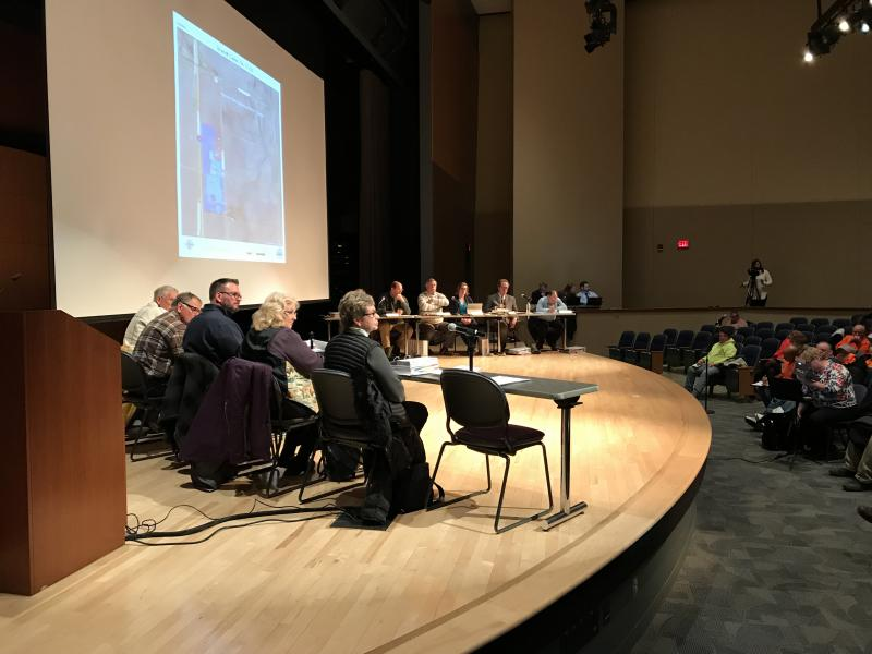 Members of the McLean County Zoning Board of Appeals took testimony from Invenergy and its experts and questions from the public about the $300 million wind farm project.