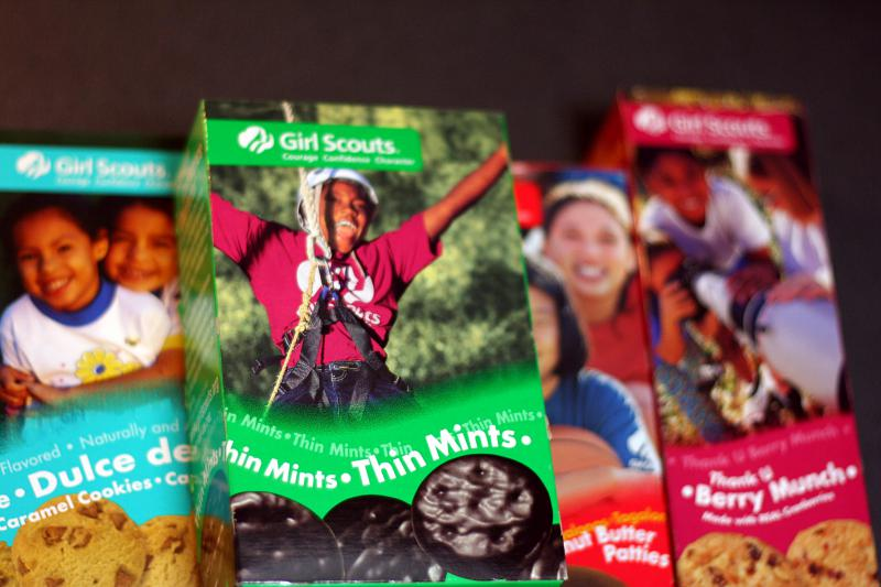 Cookie sales help build the confidence of Girl Scouts everywhere.