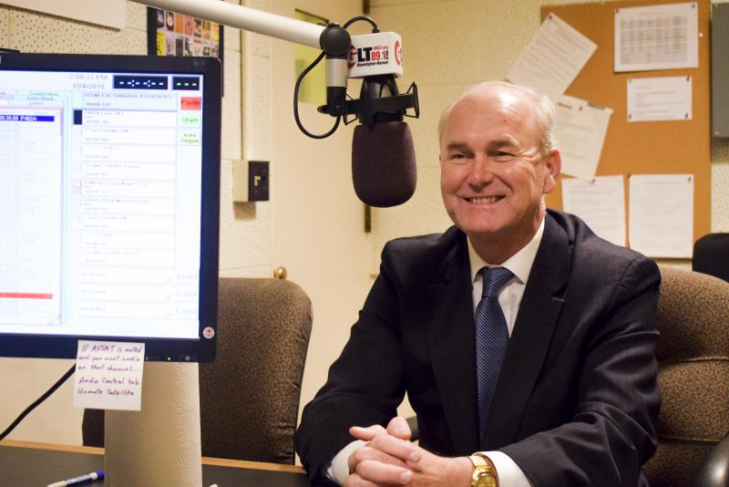 Democratic candidate for governor Bob Daiber in the GLT studios on Wednesday, Jan. 24, 2018.