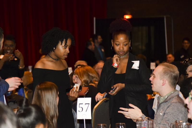 Highlights from the Martin Luther King Jr. Cultural Dinner at Illinois State University on Friday, Jan. 26, 2018, featuring speaker Loretta Lynch.