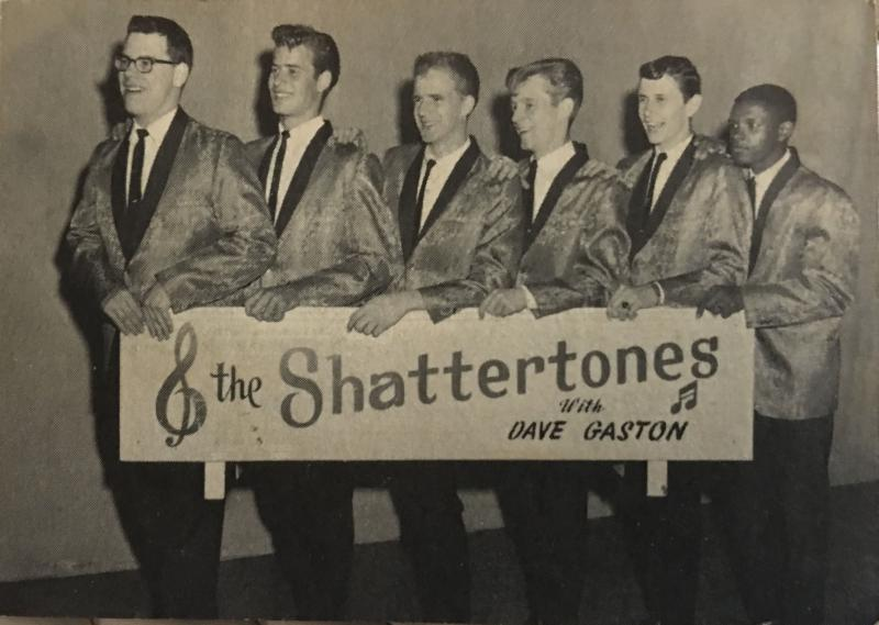 Tom Becker, second from left, and The Shattertones, circa 1964