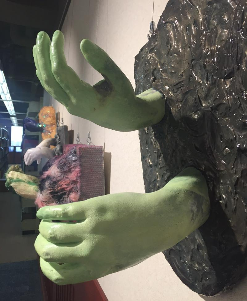 """""""Hands"""" is on view through Feb. 26."""