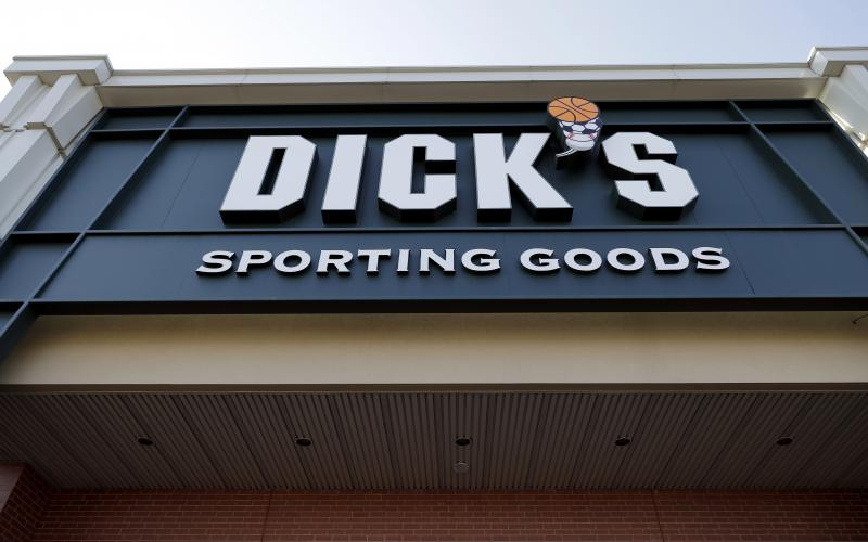Dick's Sporting Goods announced Wednesday that it will immediately end sales of assault-style rifles and high capacity magazines at all of its stores and ban the sale of all guns to anyone under 21.