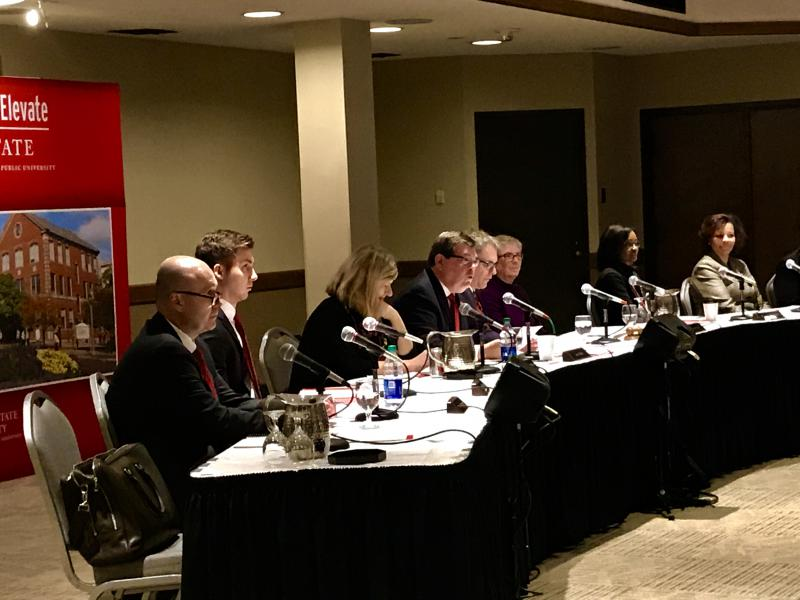 Illinois State University Board of Trustees during its meeting Friday, Feb. 16, 2018.
