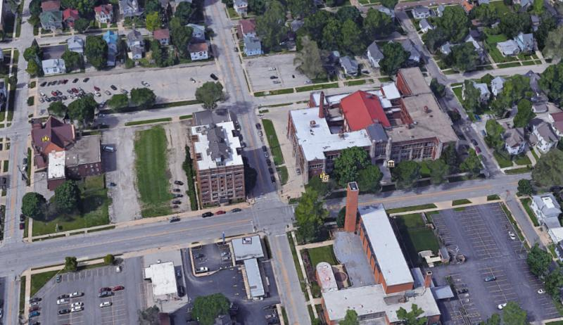 The city is looking to redevelop the Washington Street cooridor east of downtown Bloomington.